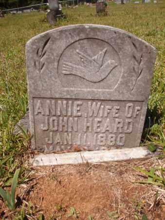 HEARD, ANNIE - Columbia County, Arkansas | ANNIE HEARD - Arkansas Gravestone Photos