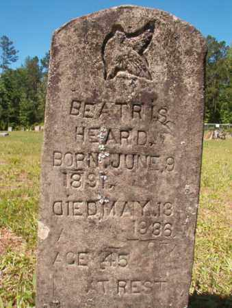 HEARD, BEATRIS - Columbia County, Arkansas | BEATRIS HEARD - Arkansas Gravestone Photos