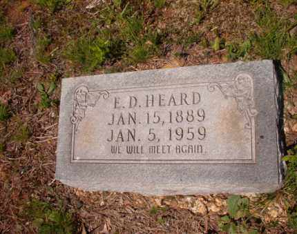 HEARD, E D - Columbia County, Arkansas | E D HEARD - Arkansas Gravestone Photos