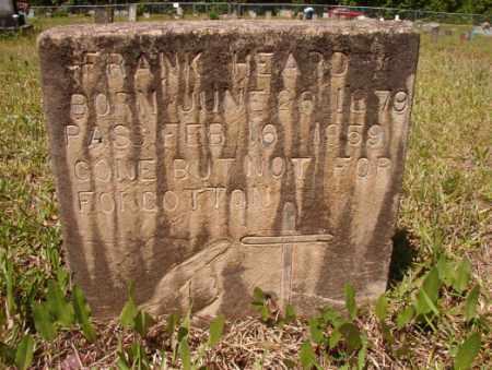 HEARD, FRANK - Columbia County, Arkansas   FRANK HEARD - Arkansas Gravestone Photos