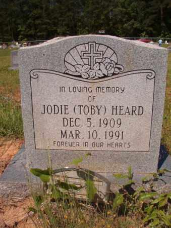 HEARD, JODIE (TOBY) - Columbia County, Arkansas | JODIE (TOBY) HEARD - Arkansas Gravestone Photos