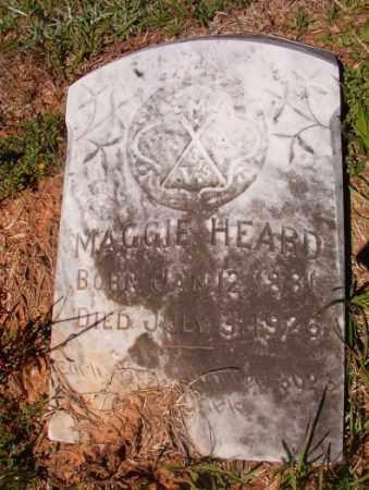 HEARD, MAGGIE - Columbia County, Arkansas | MAGGIE HEARD - Arkansas Gravestone Photos