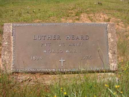HEARD (VETERAN WWI), LUTHER - Columbia County, Arkansas | LUTHER HEARD (VETERAN WWI) - Arkansas Gravestone Photos