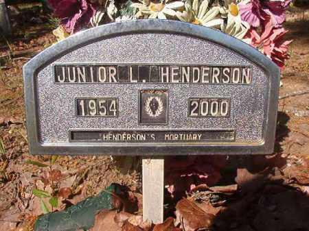 HENDERSON, JUNIOR L - Columbia County, Arkansas | JUNIOR L HENDERSON - Arkansas Gravestone Photos