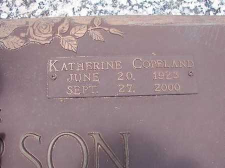 HENDERSON, KATHERINE - Columbia County, Arkansas | KATHERINE HENDERSON - Arkansas Gravestone Photos