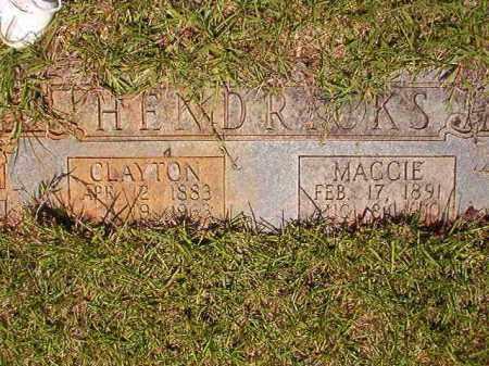 HENDRICKS, CLAYTON - Columbia County, Arkansas | CLAYTON HENDRICKS - Arkansas Gravestone Photos