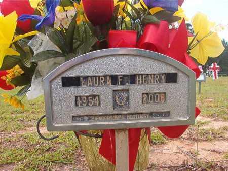 HENRY, LAURA F - Columbia County, Arkansas | LAURA F HENRY - Arkansas Gravestone Photos