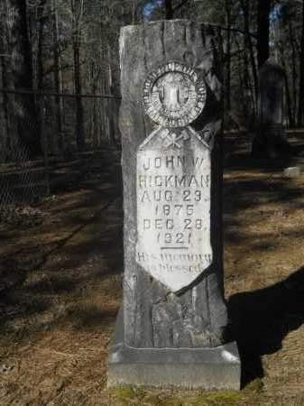 HICKMAN, JOHN WOODARD - Columbia County, Arkansas | JOHN WOODARD HICKMAN - Arkansas Gravestone Photos