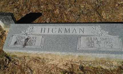 HICKMAN, OTHA DOYE - Columbia County, Arkansas   OTHA DOYE HICKMAN - Arkansas Gravestone Photos