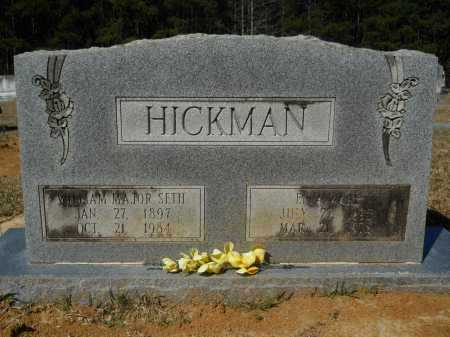 HICKMAN, WILLIAM MAJOR SETH - Columbia County, Arkansas | WILLIAM MAJOR SETH HICKMAN - Arkansas Gravestone Photos