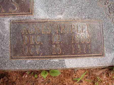 TRIPLET HICKS, AGNES - Columbia County, Arkansas | AGNES TRIPLET HICKS - Arkansas Gravestone Photos