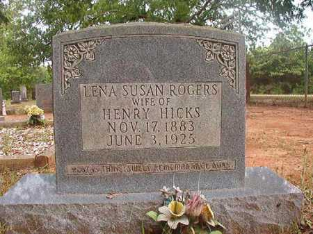 HICKS, LENA SUSAN - Columbia County, Arkansas | LENA SUSAN HICKS - Arkansas Gravestone Photos