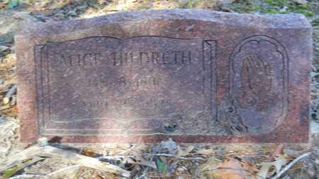 HILDRETH, ALICE - Columbia County, Arkansas | ALICE HILDRETH - Arkansas Gravestone Photos