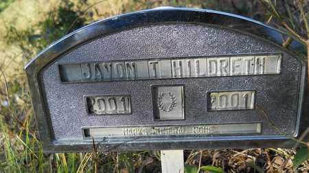 HILDRETH, JAVON TYREE - Columbia County, Arkansas | JAVON TYREE HILDRETH - Arkansas Gravestone Photos