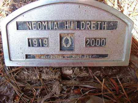 HILDRETH, NEOMIA - Columbia County, Arkansas | NEOMIA HILDRETH - Arkansas Gravestone Photos
