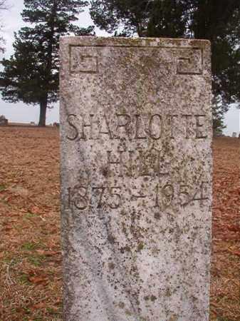 HILL, SHARLOTTE - Columbia County, Arkansas | SHARLOTTE HILL - Arkansas Gravestone Photos