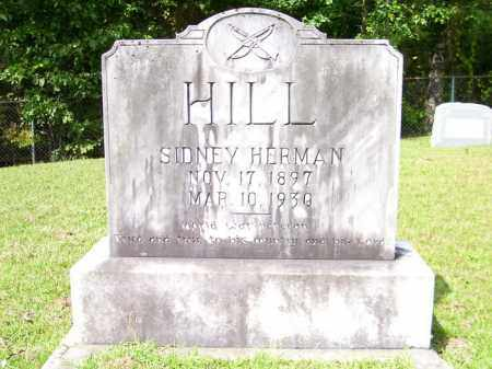 HILL, SIDNEY HERMAN - Columbia County, Arkansas | SIDNEY HERMAN HILL - Arkansas Gravestone Photos