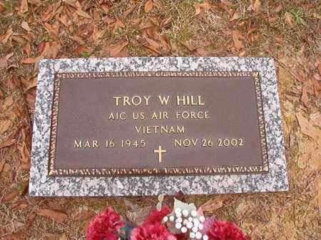 HILL (VETERAN VIET), TROY W - Columbia County, Arkansas | TROY W HILL (VETERAN VIET) - Arkansas Gravestone Photos