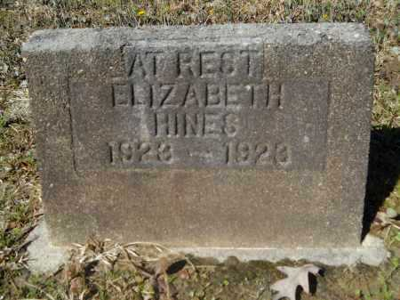HINES, ELIZABETH - Columbia County, Arkansas | ELIZABETH HINES - Arkansas Gravestone Photos