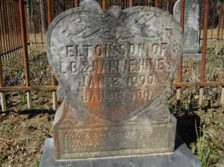 HINES, ELTON - Columbia County, Arkansas | ELTON HINES - Arkansas Gravestone Photos