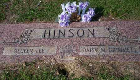 HINSON, REUBEN LEE - Columbia County, Arkansas | REUBEN LEE HINSON - Arkansas Gravestone Photos
