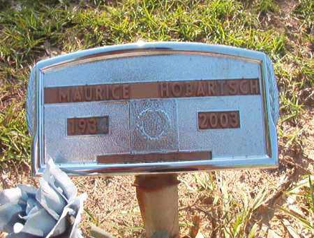 HOBARTSCH, MAURICE - Columbia County, Arkansas | MAURICE HOBARTSCH - Arkansas Gravestone Photos