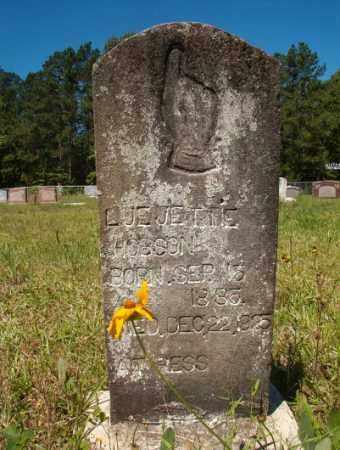 HOBSON, LUE JETTIE - Columbia County, Arkansas   LUE JETTIE HOBSON - Arkansas Gravestone Photos