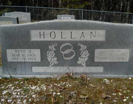 HOLLAN, RUTH M - Columbia County, Arkansas   RUTH M HOLLAN - Arkansas Gravestone Photos