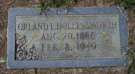 HOLLENSWORTH, ORLAND L - Columbia County, Arkansas | ORLAND L HOLLENSWORTH - Arkansas Gravestone Photos