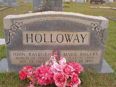 HOLLOWAY, JOHN RAYBURN - Columbia County, Arkansas | JOHN RAYBURN HOLLOWAY - Arkansas Gravestone Photos
