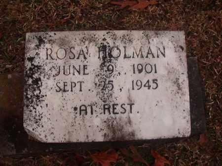 HOLMAN, ROSA - Columbia County, Arkansas | ROSA HOLMAN - Arkansas Gravestone Photos