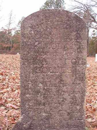HOLMES, LEOLA - Columbia County, Arkansas   LEOLA HOLMES - Arkansas Gravestone Photos