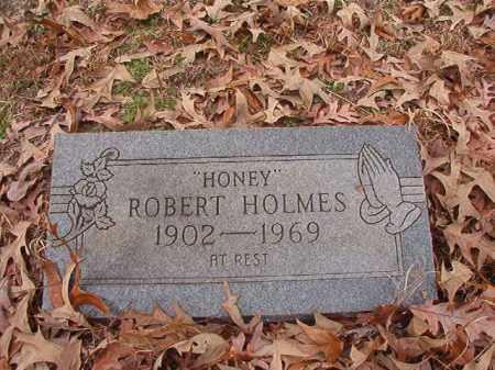 "HOLMES, ROBERT ""HONEY"" - Columbia County, Arkansas   ROBERT ""HONEY"" HOLMES - Arkansas Gravestone Photos"