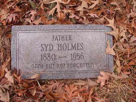 HOLMES, SYD - Columbia County, Arkansas   SYD HOLMES - Arkansas Gravestone Photos