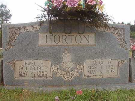 HORTON, JEWEL H - Columbia County, Arkansas | JEWEL H HORTON - Arkansas Gravestone Photos