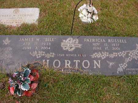 RUSSELL HORTON, PATRICIA - Columbia County, Arkansas | PATRICIA RUSSELL HORTON - Arkansas Gravestone Photos