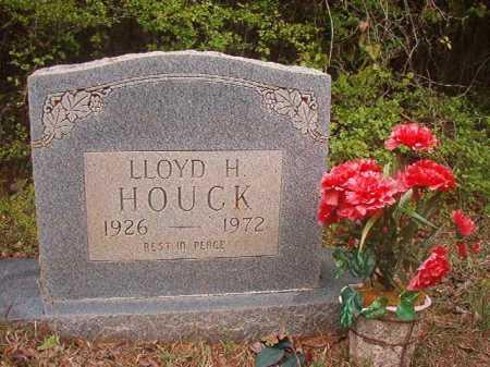 HOUCK, LLOYD H - Columbia County, Arkansas | LLOYD H HOUCK - Arkansas Gravestone Photos