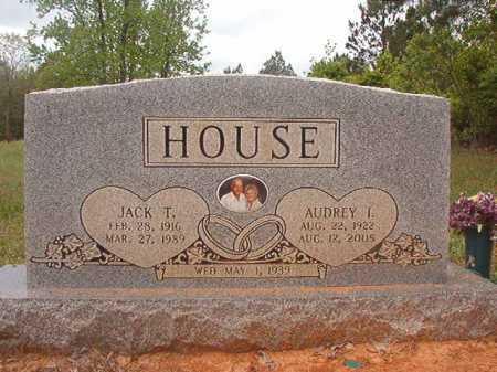 HOUSE, JACK T - Columbia County, Arkansas | JACK T HOUSE - Arkansas Gravestone Photos