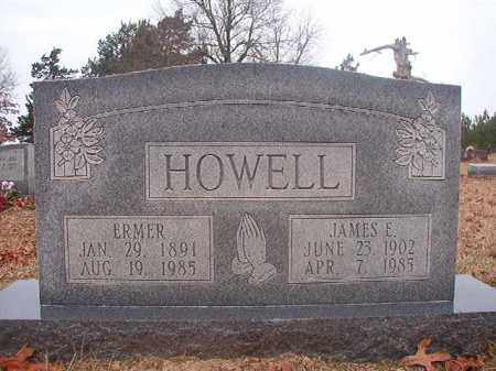 HOWELL, ERMER - Columbia County, Arkansas | ERMER HOWELL - Arkansas Gravestone Photos