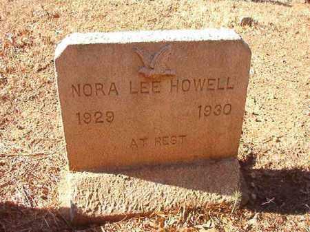 HOWELL, NORA LEE - Columbia County, Arkansas | NORA LEE HOWELL - Arkansas Gravestone Photos