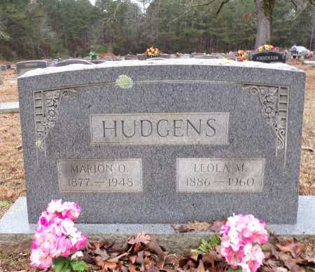 MARSHALL HUDGENS, LEOLA - Columbia County, Arkansas | LEOLA MARSHALL HUDGENS - Arkansas Gravestone Photos