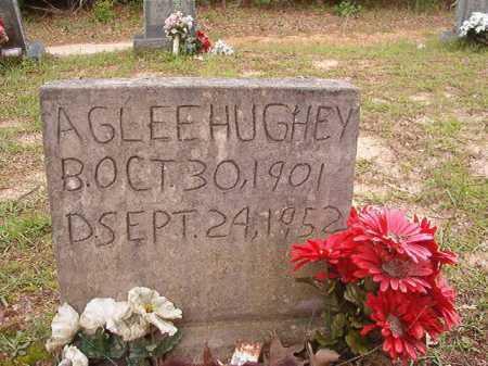 HUGHEY, AGLEE - Columbia County, Arkansas | AGLEE HUGHEY - Arkansas Gravestone Photos