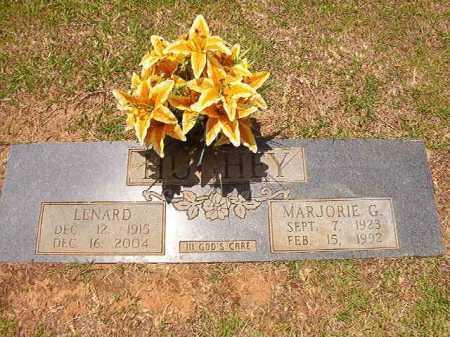 HUGHEY, LENARD - Columbia County, Arkansas | LENARD HUGHEY - Arkansas Gravestone Photos