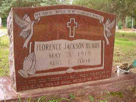 HUMDY, FLORENCE - Columbia County, Arkansas | FLORENCE HUMDY - Arkansas Gravestone Photos