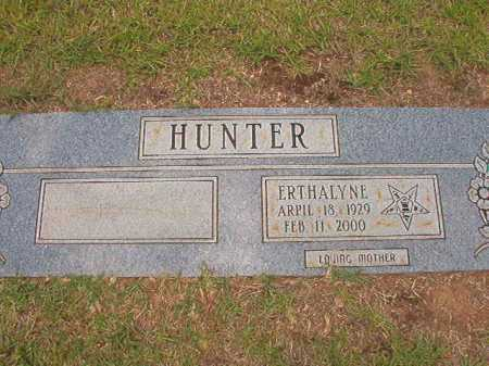 HUNTER, ERTHALYNE - Columbia County, Arkansas | ERTHALYNE HUNTER - Arkansas Gravestone Photos