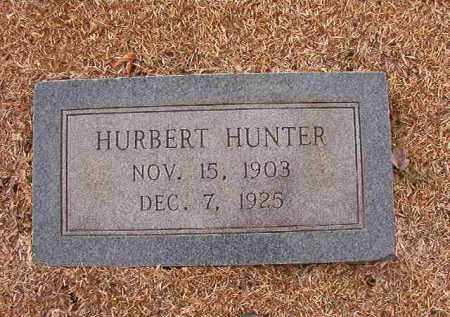 HUNTER, HURBERT - Columbia County, Arkansas   HURBERT HUNTER - Arkansas Gravestone Photos