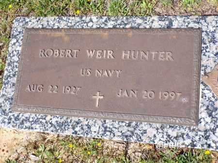 HUNTER (VETERAN), ROBERT WEIR - Columbia County, Arkansas | ROBERT WEIR HUNTER (VETERAN) - Arkansas Gravestone Photos