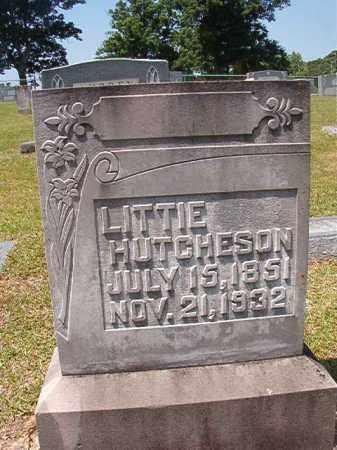 HUTCHESON, LITTIE - Columbia County, Arkansas | LITTIE HUTCHESON - Arkansas Gravestone Photos