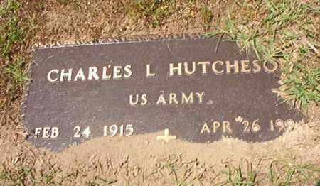 HUTCHESON (VETERAN), CHARLES L - Columbia County, Arkansas   CHARLES L HUTCHESON (VETERAN) - Arkansas Gravestone Photos