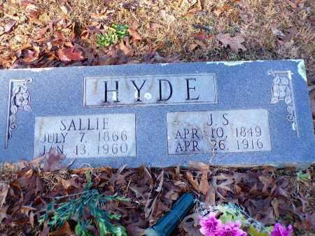 HYDE, JOSHUA S - Columbia County, Arkansas | JOSHUA S HYDE - Arkansas Gravestone Photos